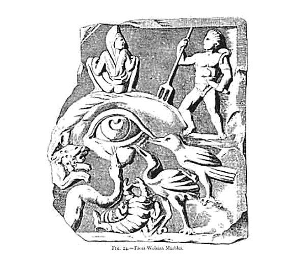 Biểu tượng Evil Eye đã xuất hiện từ thời Hy Lạp cổ đại và Roma.