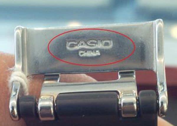 5 Bước Nhanh Nhất Phân Biệt Đồng Hồ G-Shock Chính Hãng Với Hàng Fake China